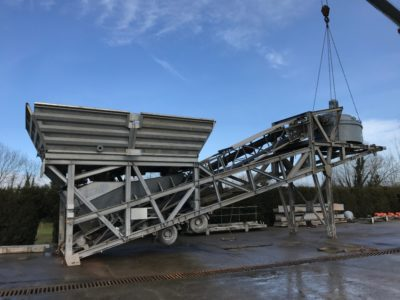 2012 Mobile Wet Batching Plant
