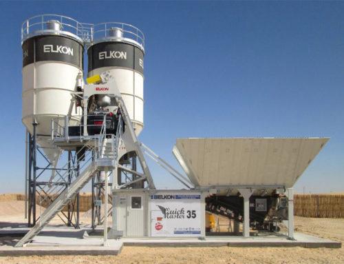 2012 Mobile Wet Batching Plant Ob Plant