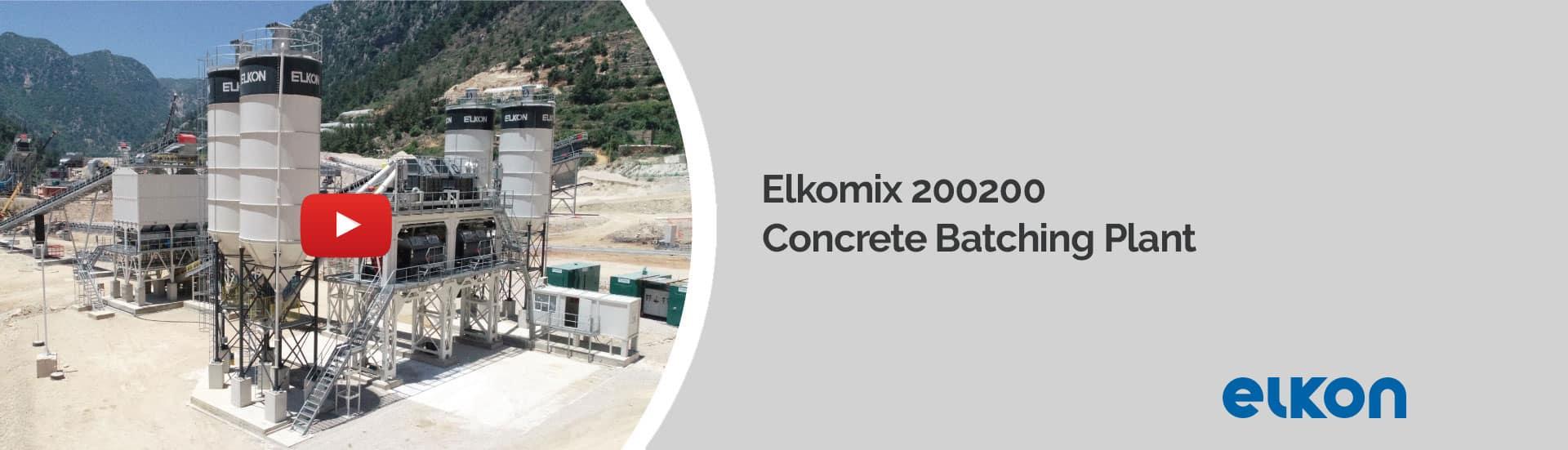 Elkomix 200200 - Concrete Batching Plant