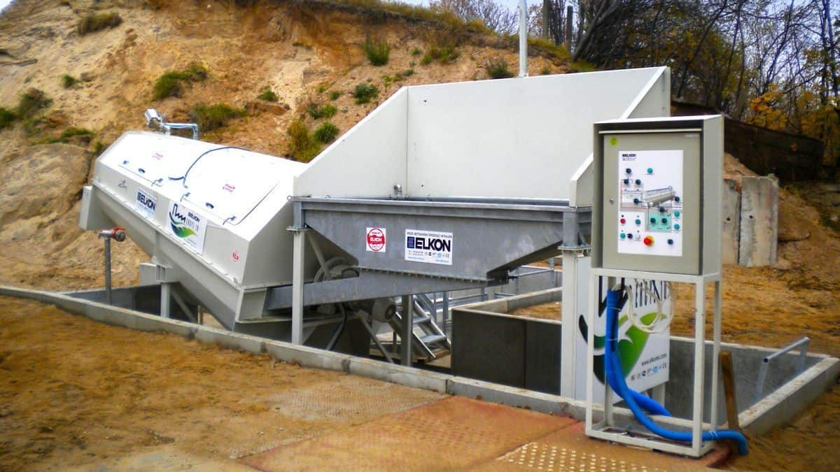 Mobile Concrete Recycling Plants