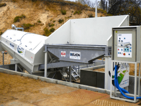 Mobile Concrete Recycling Plants